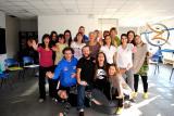 """21-22 novembre, Centering a Belluno: il gruppo (quasi) al completo, prova il """"Kiai"""": mancano Vanya, Alessandra e Arshad"""